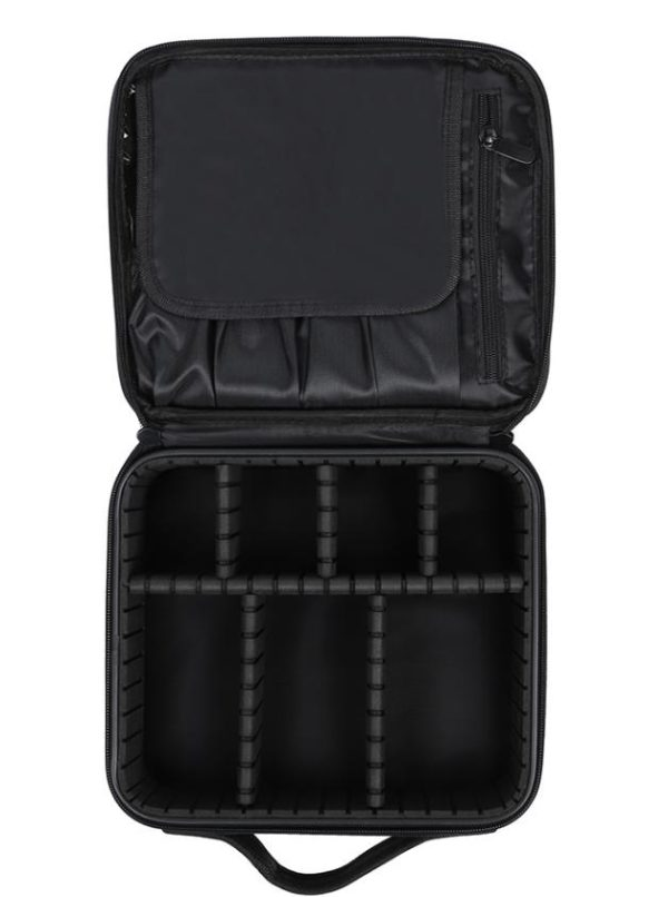Permanent Makeup Bag With Hard Card Black